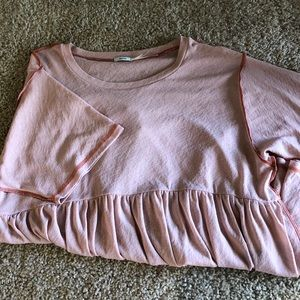 Urban Outfitters Kimchi Blue Flowy Pink Top (S)